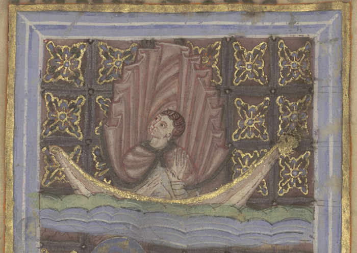 Bibliothèque d'agglomération de Saint-Omer, Ms. 698, fol. 10v.