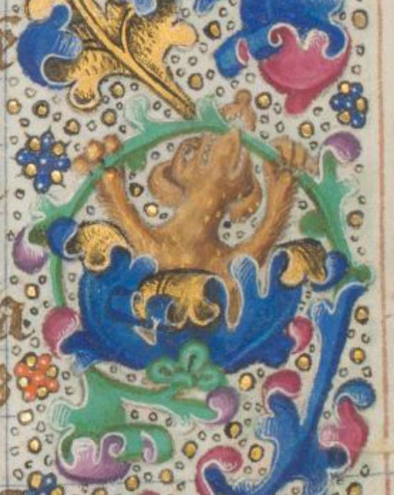 Université de Liège, Ms. W.13, fol. 124r.