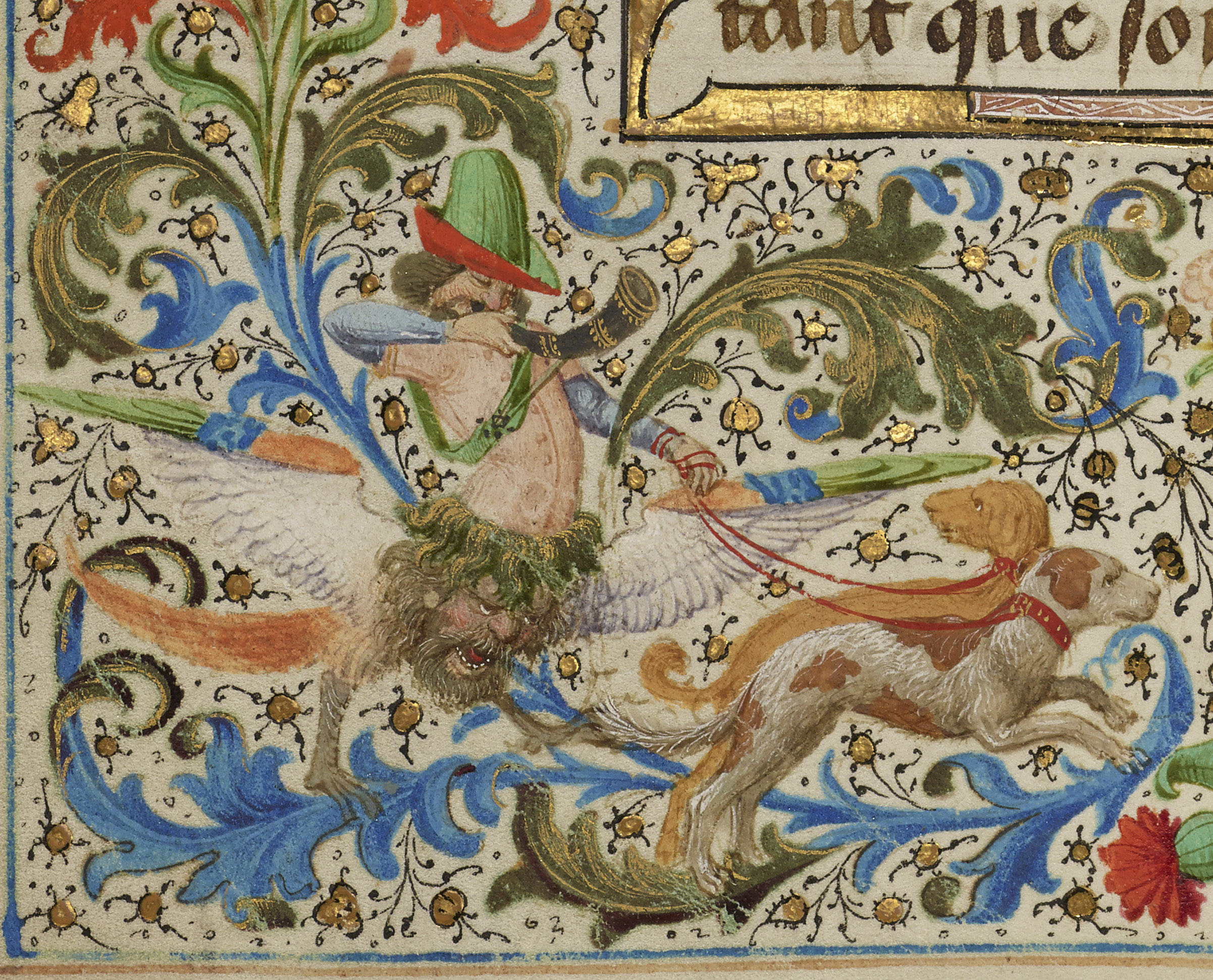 The J. Paul Getty Museum, Los Angeles, Ms. 111, fol. 134v.