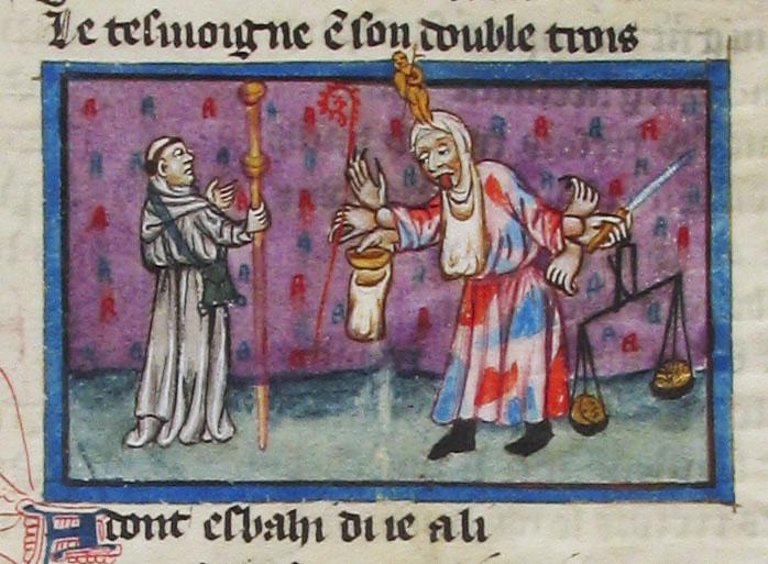 Médiathèque d'Arras, ms. 845, fol. 129r.